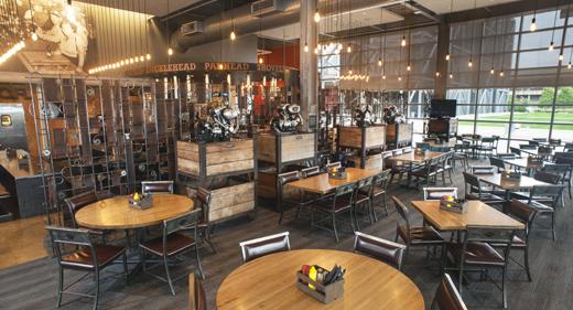Bar pub resto bikers for Motor bar and restaurant