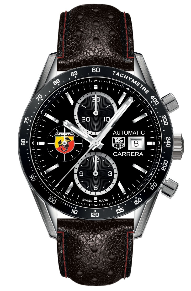 montre chronographe automatique abarth