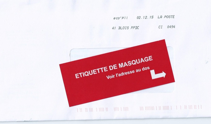 La poste se ruine - Reexpedition du courrier temporaire ...