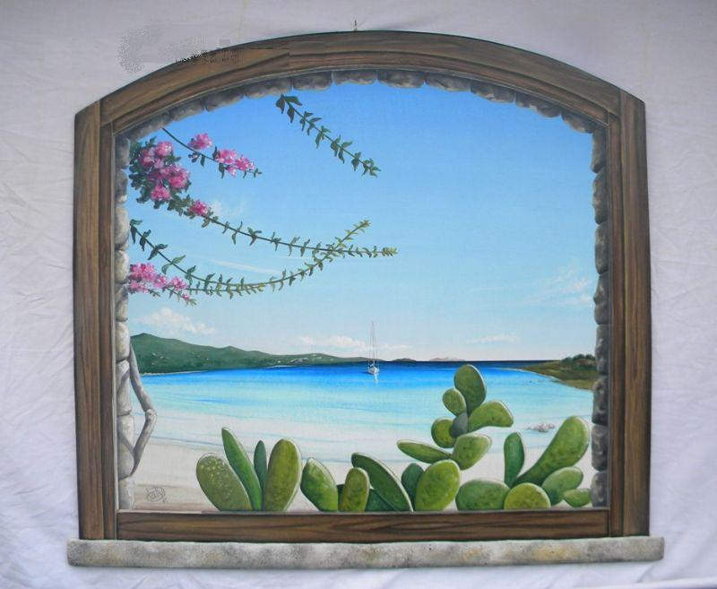 Gallerie fotografiche finestra sul mare - Quadri con finestre ...