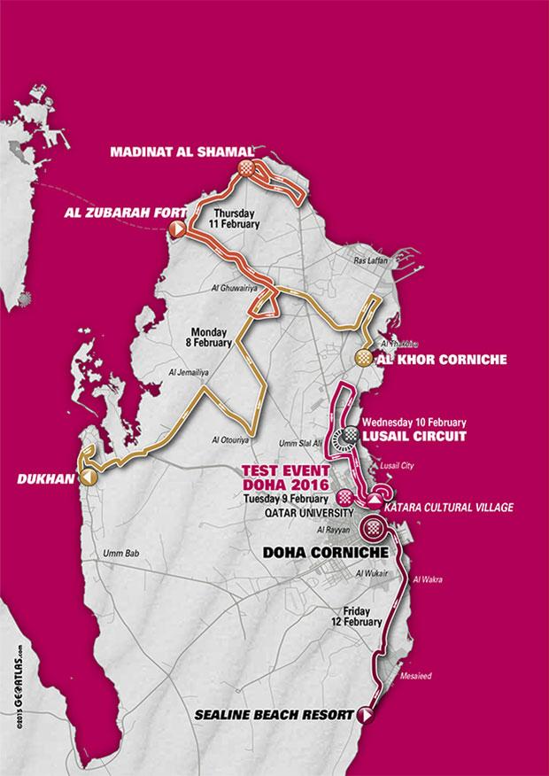 planimetria generale 2016 » 15th Tour of Qatar (2.HC)