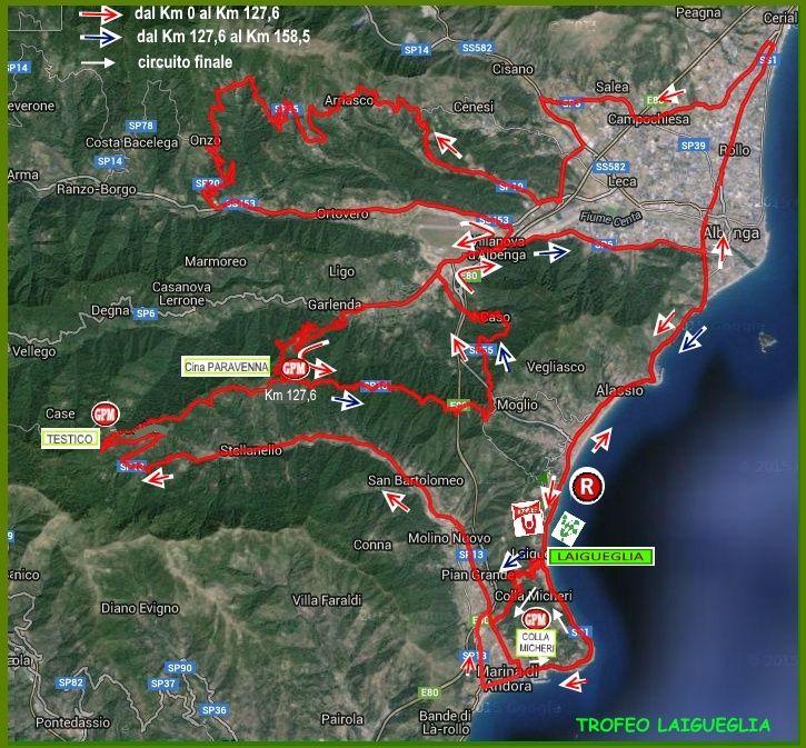 planimetria 2016 » 53rd Trofeo Laigueglia (1.HC) » Laigueglia › Laigueglia (192.5 km)