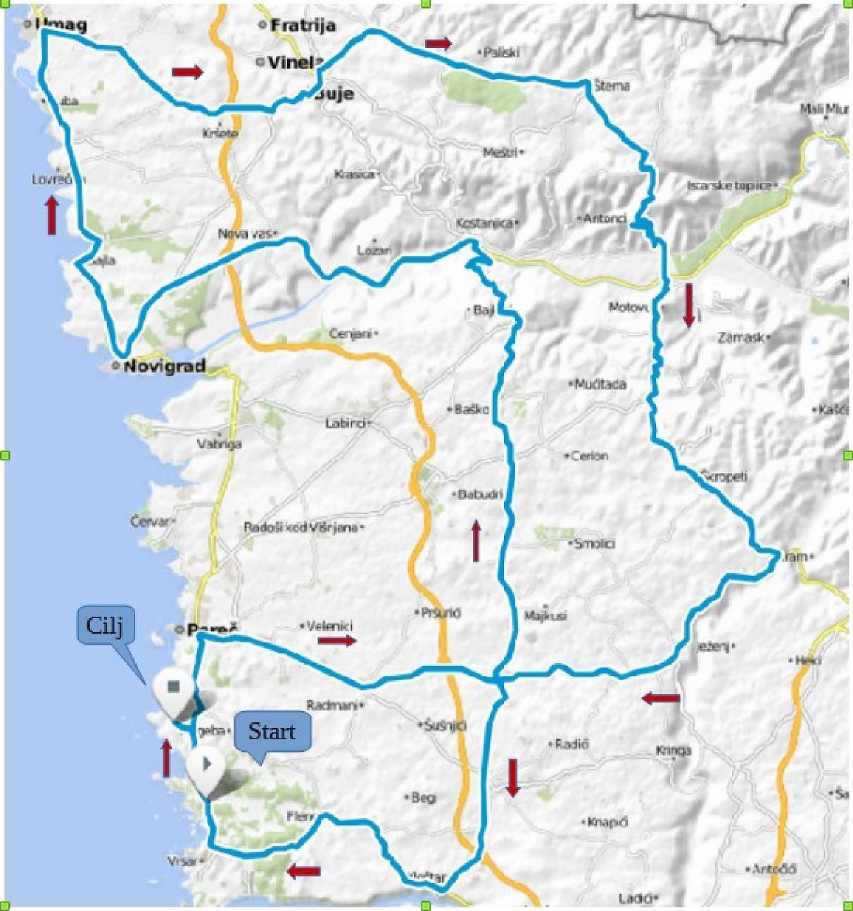 planimetria 2016 » Grand Prix Laguna Poreč (1.2) » Poreč › Poreč (163 km)