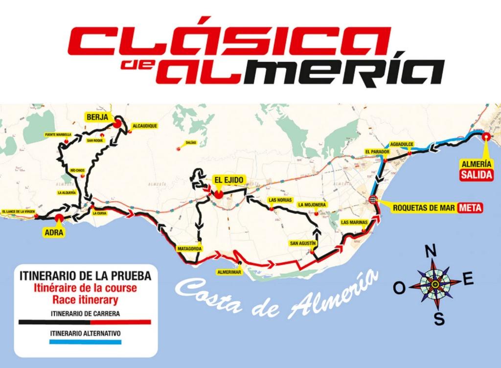 planimetria 2016 » 31st Clásica de Almería » Almería › Almería (186 km)