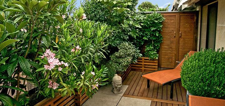 Balcons et terrasses fleuries page 6 - Amenagement balcon terrasse ...