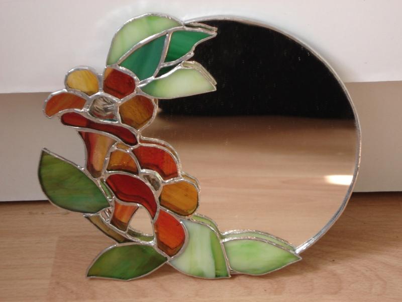 Les fleurs dans l 39 art page 2 for Miroir vitrail modeles