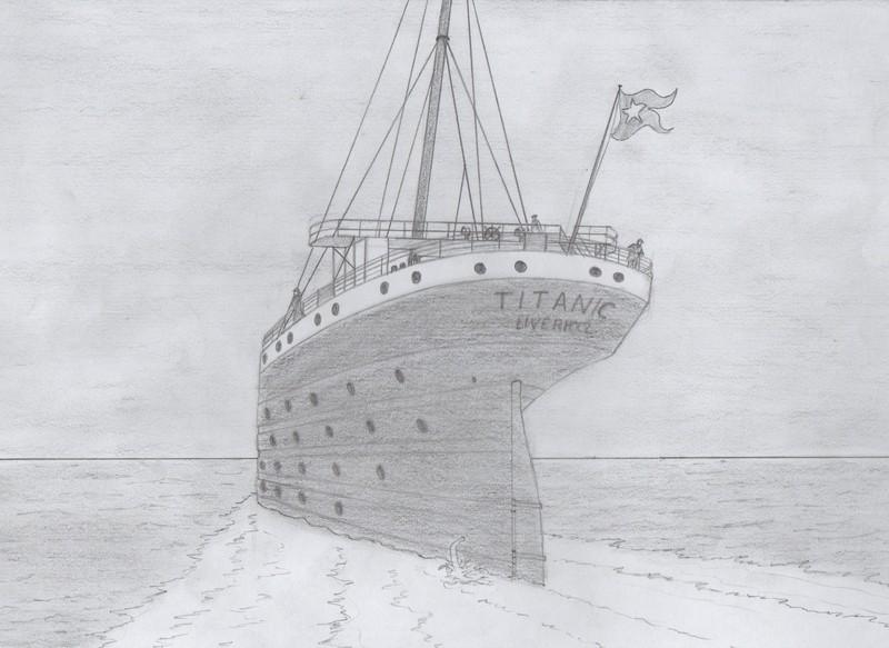 Dessins perso - Dessin du titanic ...