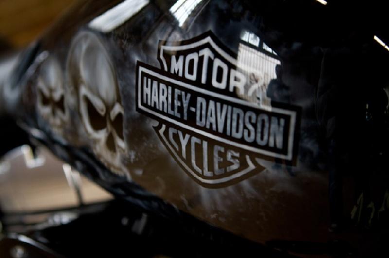 Peinture Perso Moto Harley Davidson