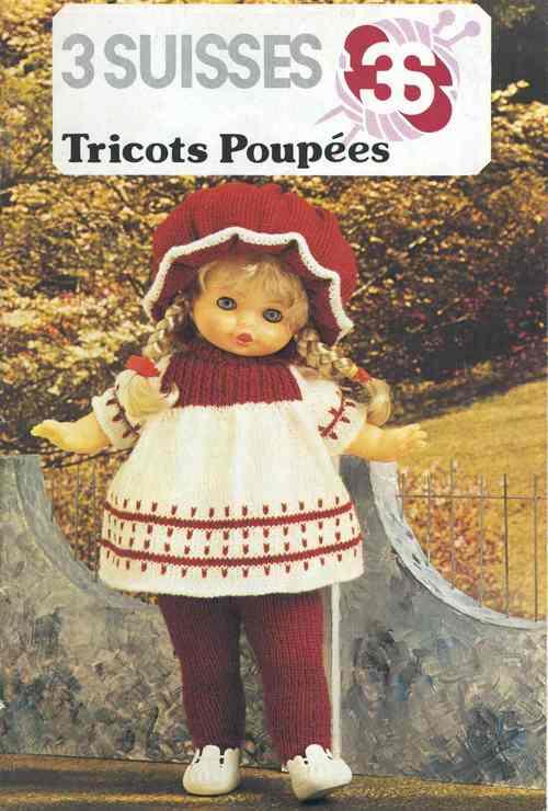 ensemble robe bouffante pour poupée