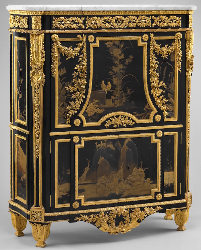 Chinoiseries et meubles de marie antoinette par for Garde meuble en anglais