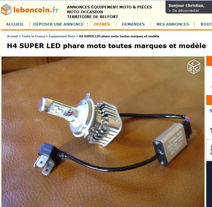 ampoule h4 led. Black Bedroom Furniture Sets. Home Design Ideas