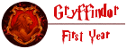 Gryffindor - 1st Year