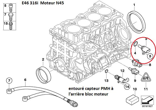 bmw e46 316i ess an 2004 probl me coupure moteur t moin jaune frein dsc r solu. Black Bedroom Furniture Sets. Home Design Ideas