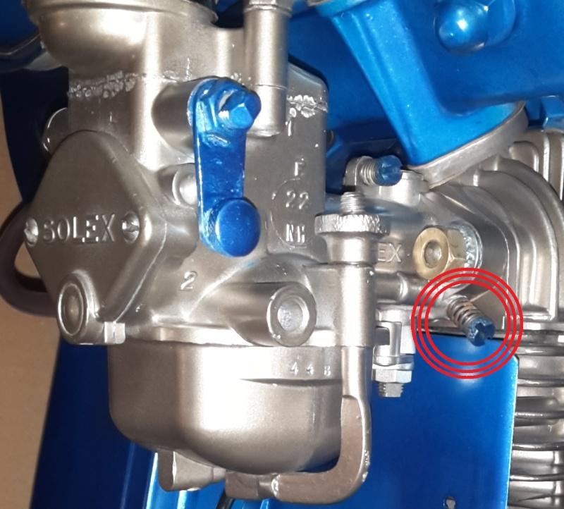 carburateur solex pour moteur bernard w110
