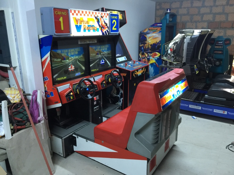 borne arcade virtua racing