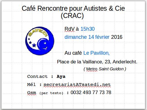 Cafe rencontre asperger