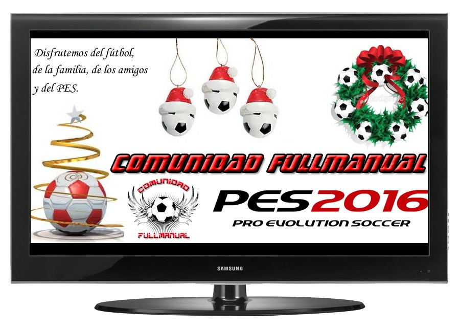 COMPETICIONES FULL MANUAL PES 2016