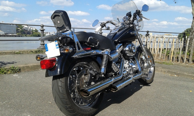 Harley Davidson Dyna Passager Peu Confortable
