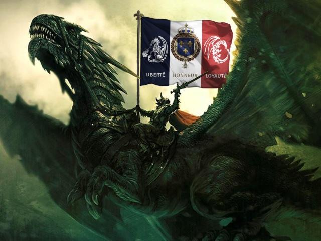 FRANCE  TERRE DE DRAGONS  Liberté - Honneur - Loyauté    [FTD]