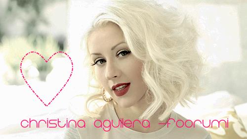 Christina Aguilera -foorumi