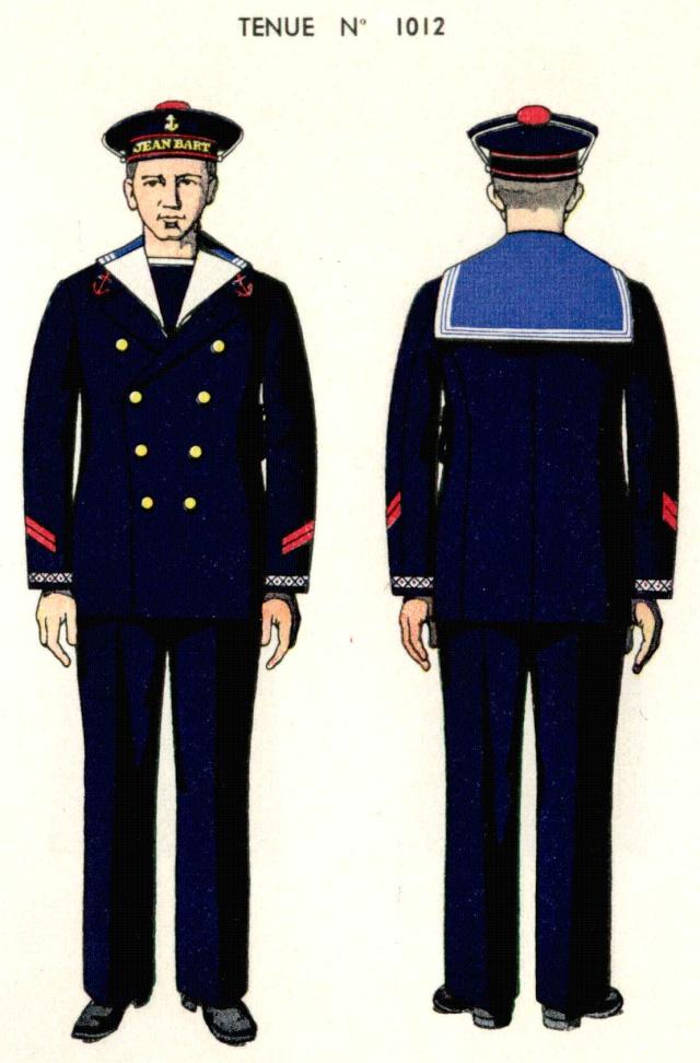 uniforme de clairon 1938 source planches marine nationale 1938. Black Bedroom Furniture Sets. Home Design Ideas