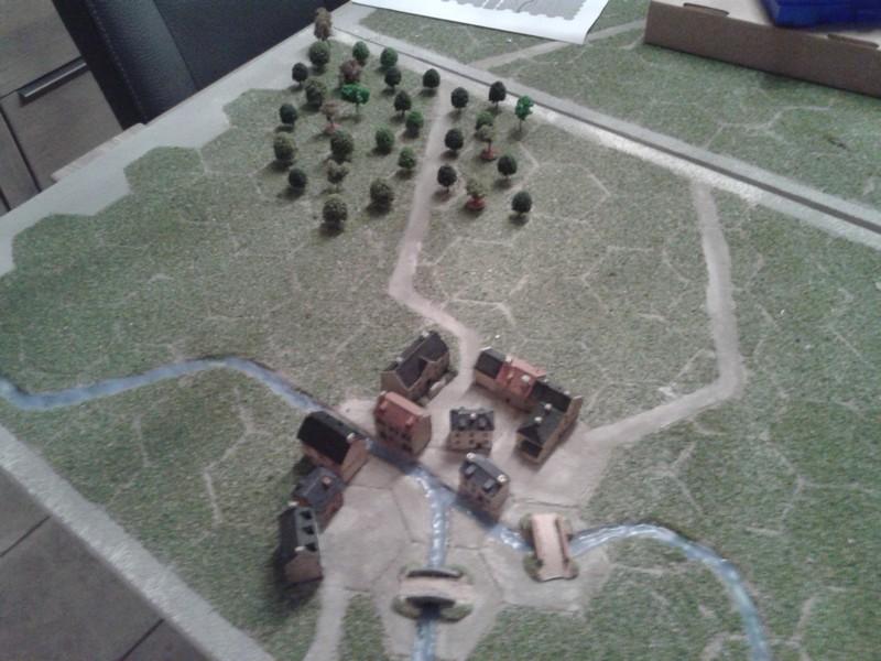 Tactique 1814 :Les plateaux de jeu...