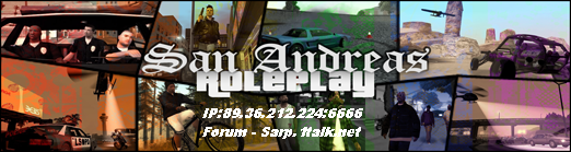San Andreas Roleplay Forum