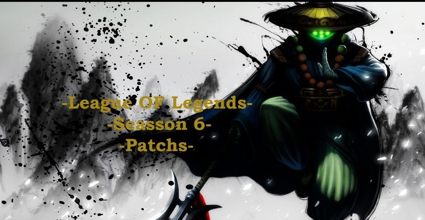 League OF Legends Patch