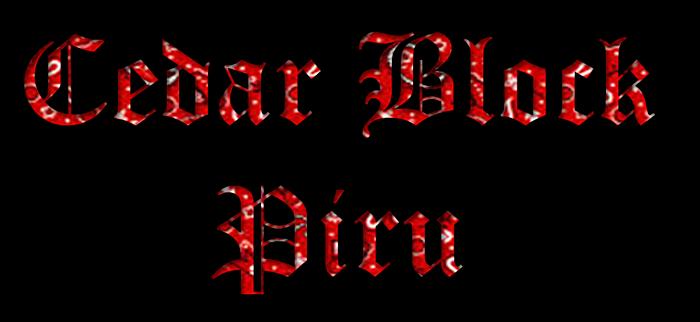 Cedar Block Piru