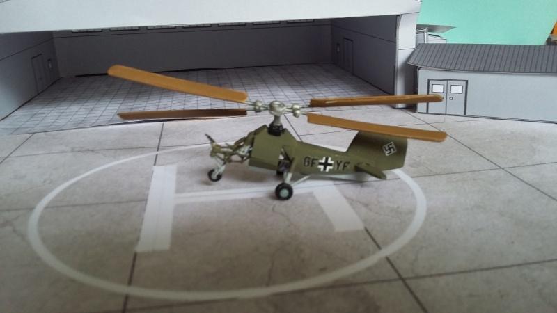 Elicottero Monoposto : Elicotteri autocostruiti scala