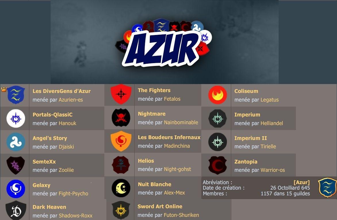 Alliance Azur serveur Vil' Smisse
