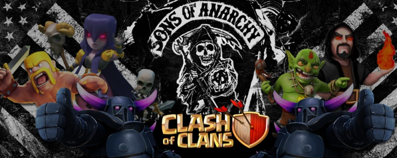 Sons Of Anarchy - Clash of Clans
