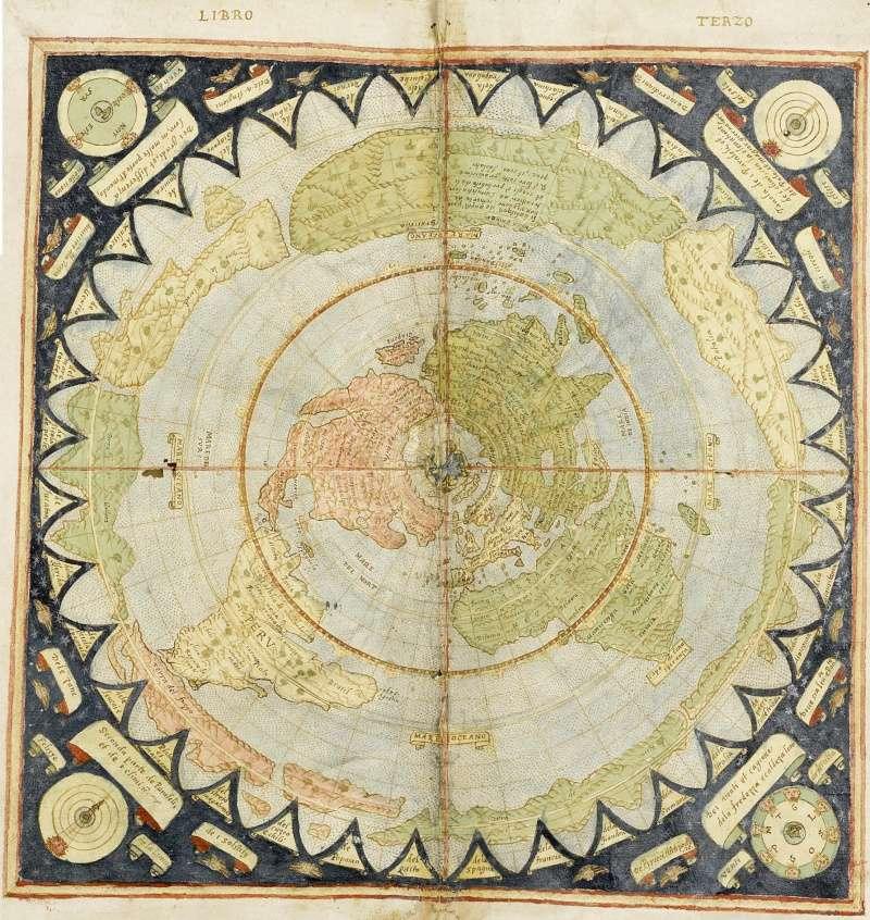 Re Flat Earth Maps Post By Lizardking On Sun Jan 17 2016 121 Pm