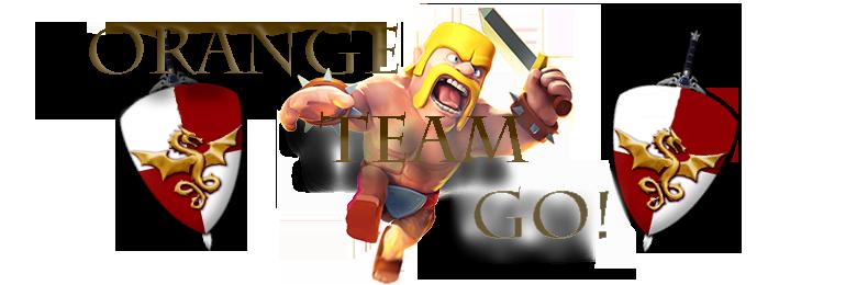 Orange Team Go
